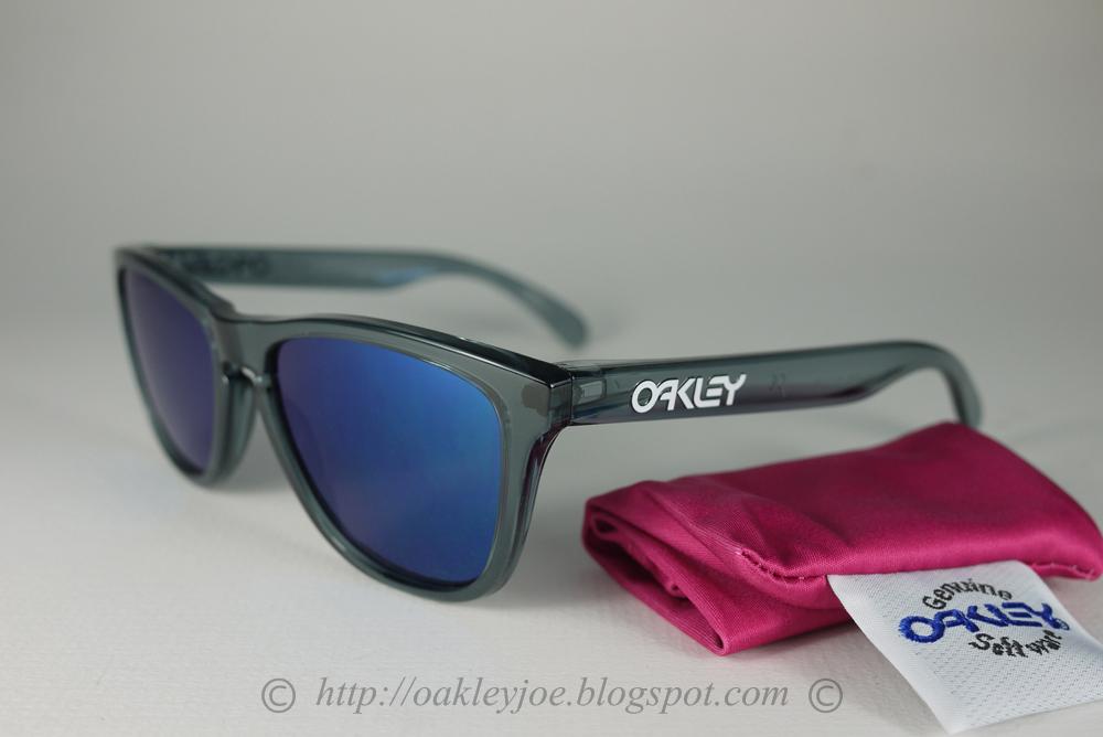 6f1d878843d Oakley Frogskins Crystal Black Ruby Iridium « Heritage Malta