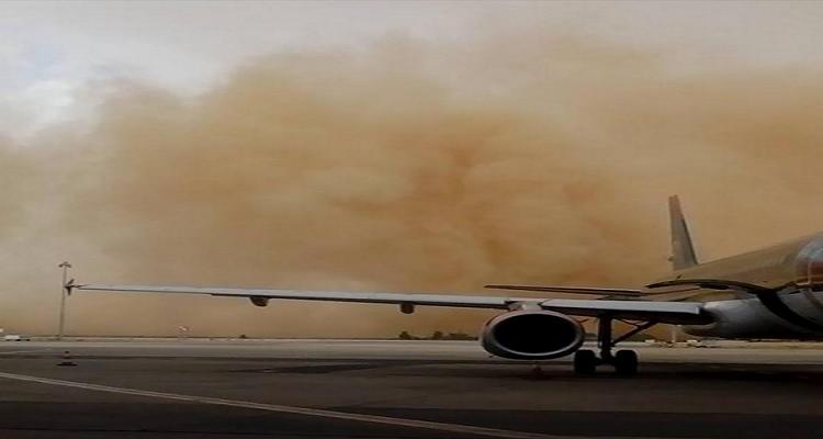 عاجل   أقوى عاصفة تضرب الإمارات و مطار أبو ظبي منذ 15 عامًا