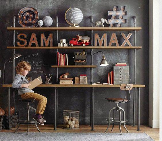 Habitación infantil - estilo Industrial