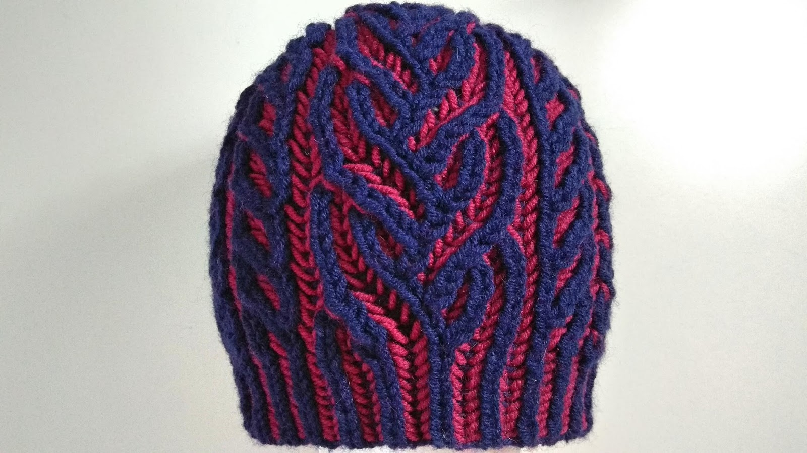 Interweave hat