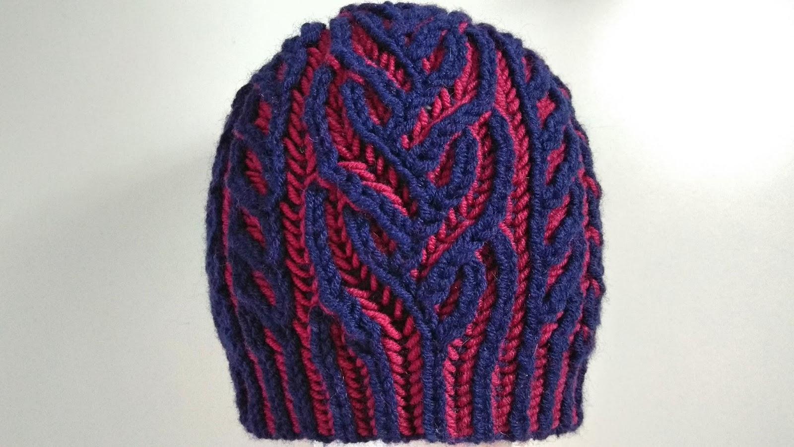 Interweave hat
