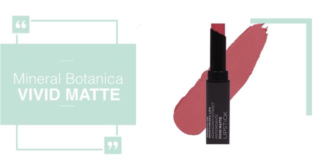 Mineral Botanica Vivid Matte Lipstik