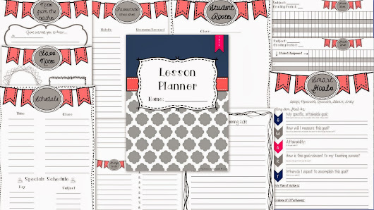Editable Lesson Plan Book