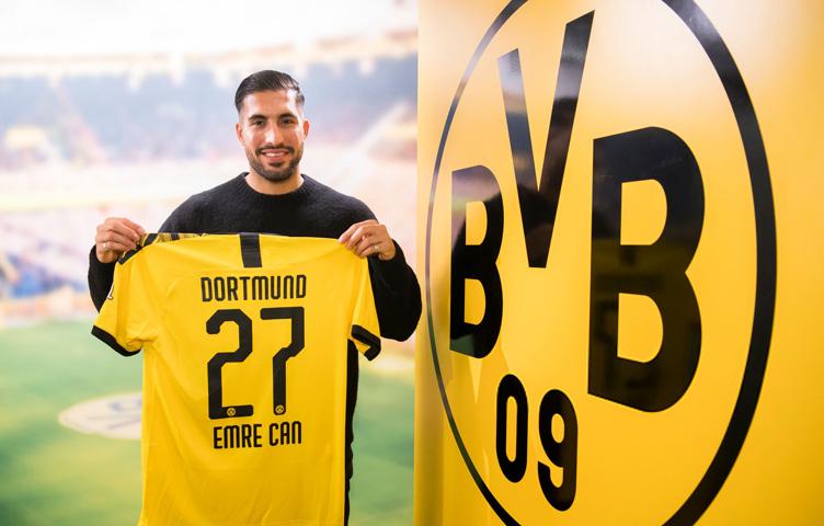 Zvanično: Emre Can je fudbaler Borussije iz Dortmunda