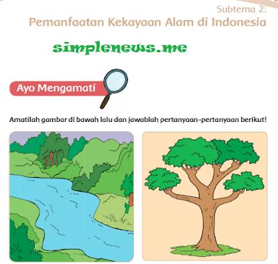 Subtema 2 Pemanfaatan Kekayaan Alam di Indonesia - www.simplenews.me