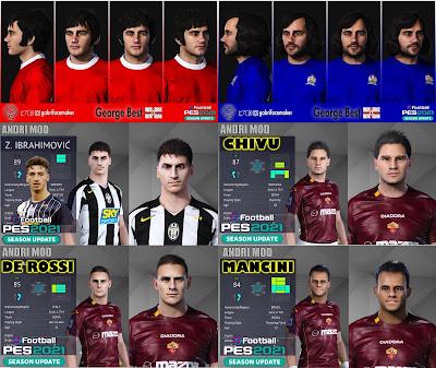 PES 2021 Classic FacePack 3