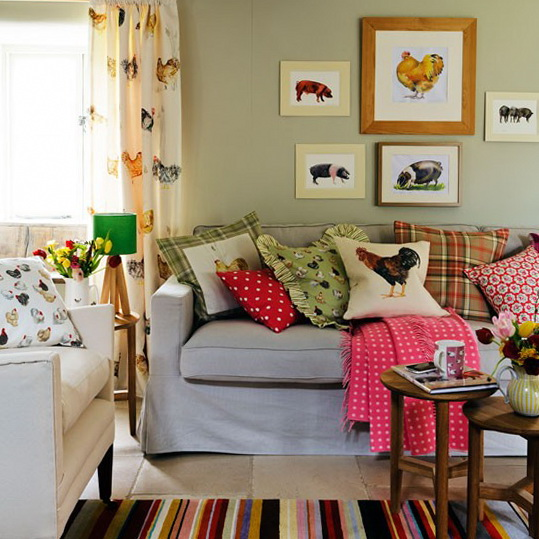 modern furniture 2013 country living room decorating
