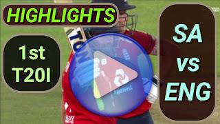 SA vs ENG 1st T20I 13th February 2020