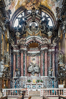 The Manin Chapel at the church of the Scalzi in Venice