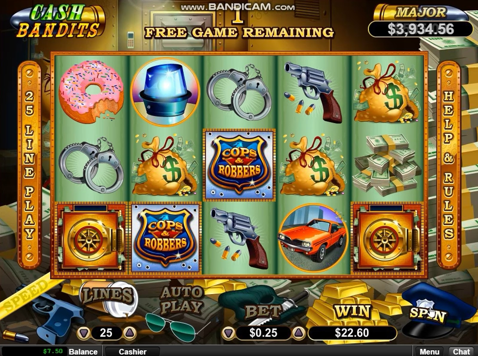 Triple 777 red hot slots
