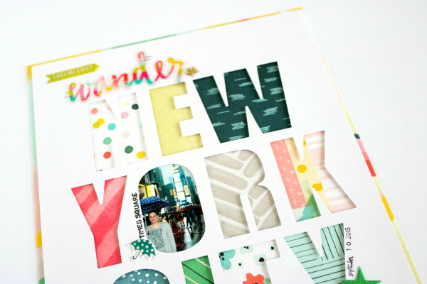 New York City | Scrapbooking Layout