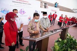 Andi Sudirman Sulaiman Temani Jusuf Kalla Resmika JK Arenatorium di Unhas