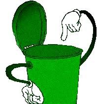 Don't throw away trash haphazardly
