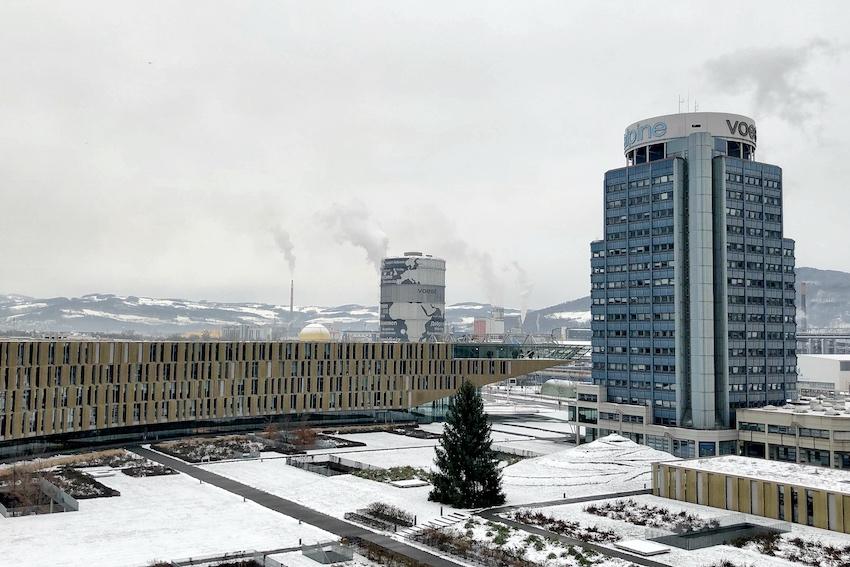 Konzernzentrale Verwaltungsgebäude voest