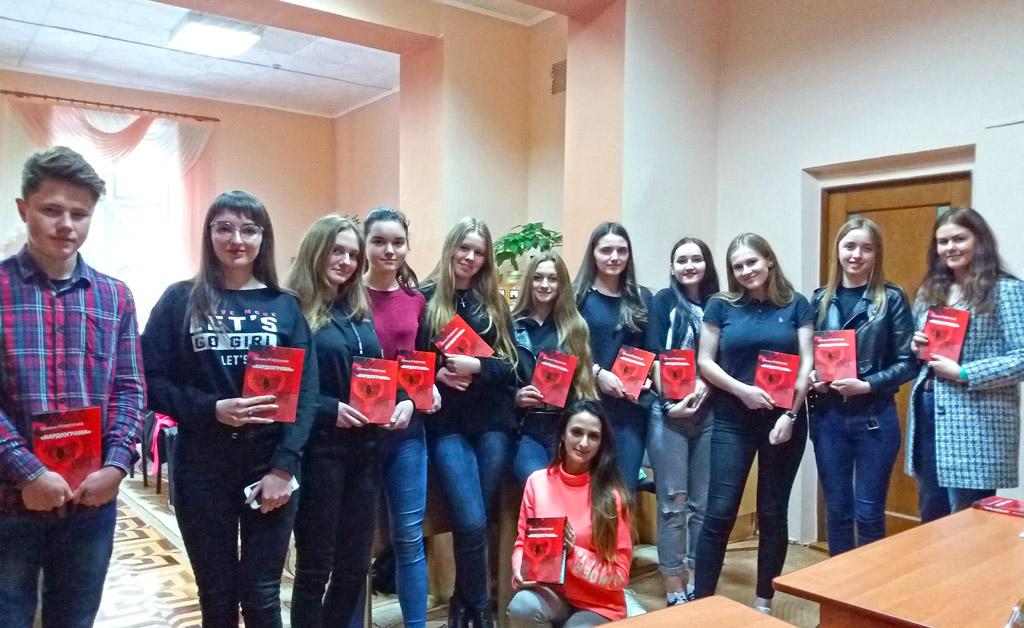 Одна із численних зустрічей зі студентами-журналістами Прикарпатського національного університету імені Василя Стефаника.