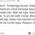 Gadis Dari Sungai Petani Minta Bantuan Raya Di FB Teruk Dikecam