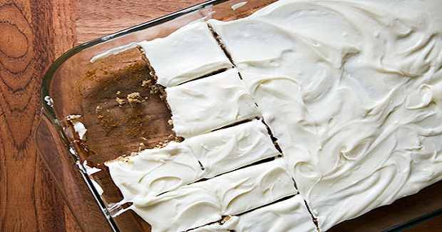 Banana Sheet Cake Recipe