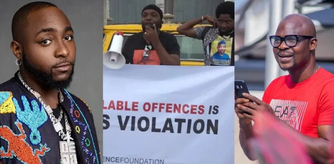 "Davido calls Yomi Fabiyi ""Mumu"" over protest for Baba Ijesha (Video)"