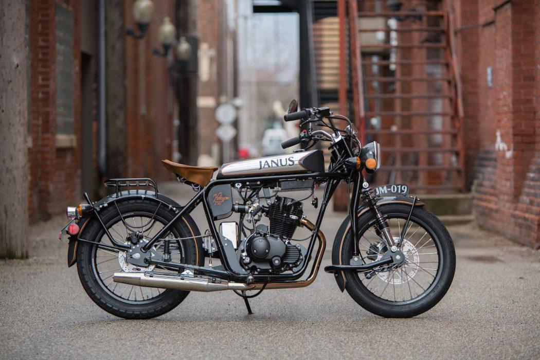 Janus Halcyon 250 Motor Bergaya Vintage