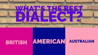 American English, Australian English, British English