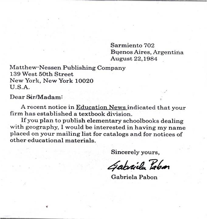 Secretary On Business Letters Initials