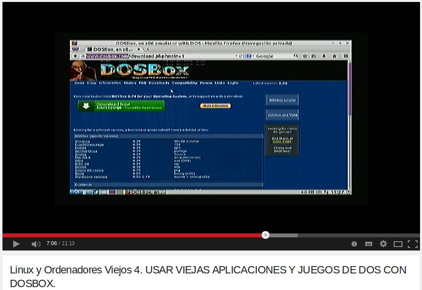 USAR VIEJAS APLICACIONES Y JUEGOS DE DOS CON DOSBOX