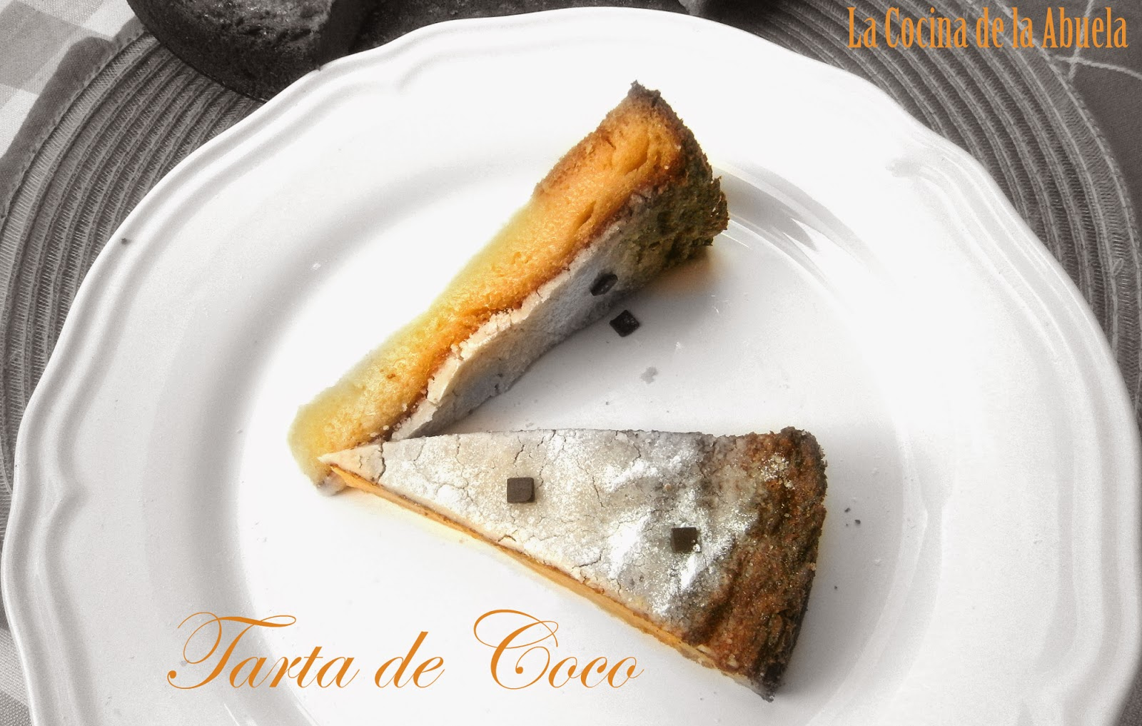 Tarta de Coco.