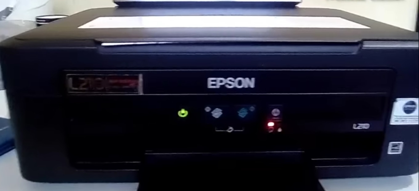 The Blinking Paper Light and Ink Light Alternately on the Epson L110, Epson L210 and How to Reset