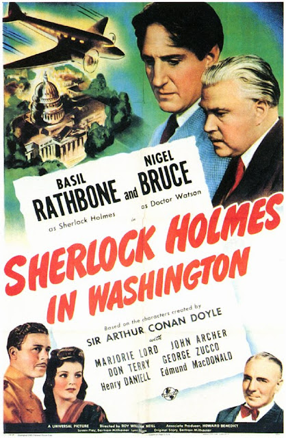 Sherlock Holmes in Washington (1943) ταινιες online seires oipeirates greek subs