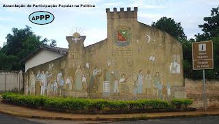 Imagem do Marco Histórico da Fundação de Barretos - APPP - Associação de Participação Popular na Política