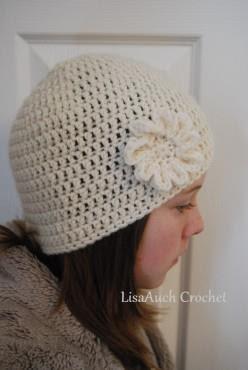 Adults Basic Beanie Pattern Free Crochet Hat Pattern