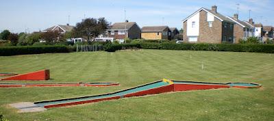 Minigolf in Dovercourt, Essex