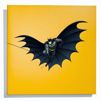 "Batman: The Animated Series Die-Cute 12"" Single Cover by Danny Elfman & Phantom City Creative"