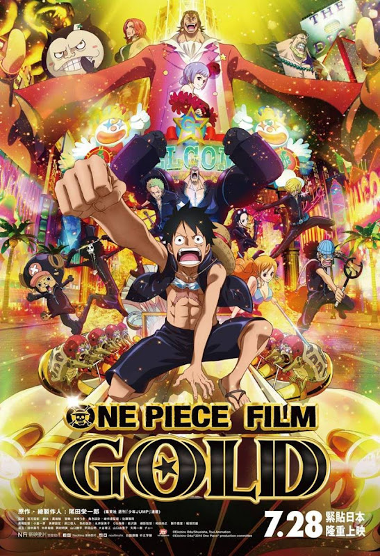 One Piece Film Gold Pelicula Sub Español
