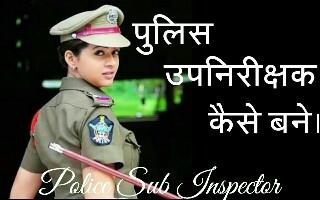 Sub inspector kaise bane
