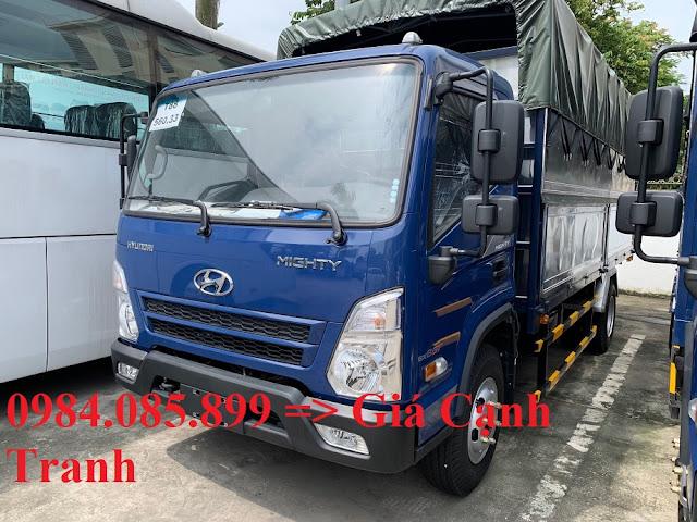 Xe tải Hyundai 7 tấn thùng bạt 5m2