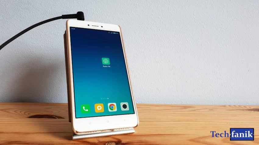 Xiaomi Redmi Note 4 Aplikacja Radio