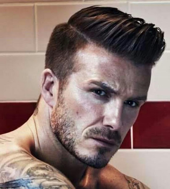 Beckham High Wavy Haircut