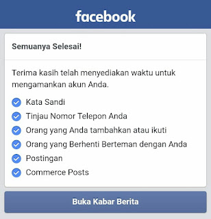 Cara Mengatasi Akun Facebook Yang Terkunci Sementara