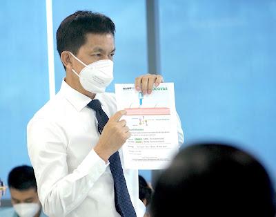 Vắc xin Nanocovax Việt Nam được chấp thuận
