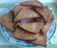 fried bread, white  fried  bread