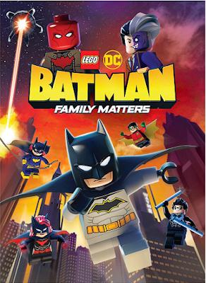 Lego Batman Family Matters [2019] [DVD R1] [Latino]