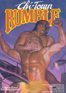 NWA Chi-Town Rumble 1989 - Event Poster