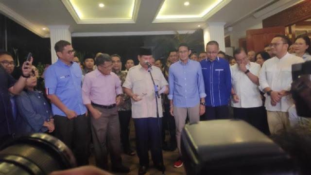Terima Putusan MK, Prabowo akan Temui Tim Hukum Cari Langkah Konstitusi Lain