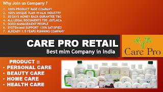 careproretail,care pro retail business plan