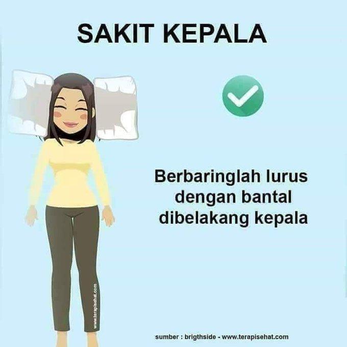Teknik Tidur Bagi Mengurangkan Kesakitan yang Dialami