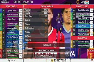 Download FTS Mod PES 2020 Full Transfer Liga Indonesia 2020