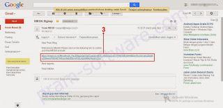 Mengkonfirmasi akun Mega di Email