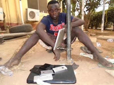 I Spend N240k Monthly On Hotel Bill – Burglar
