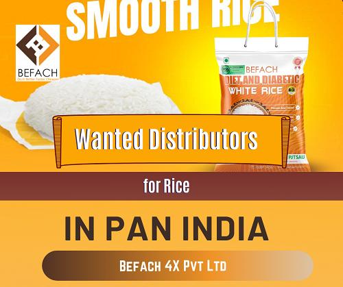 Take Distributorship of Befach Rice in India